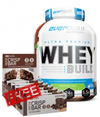 PROMO STACK UPWhey 5lb.+ ON Crisp Bar Box FREE Stack