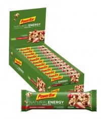 POWERBAR Natural Energy Cereal Bar Box / 24x40gr