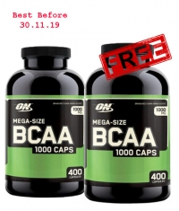 PROMO STACK ON BCAA 400 1+1 FREE