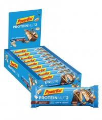 POWERBAR Protein Nut2 Bar Box / 18x2x22.5gr
