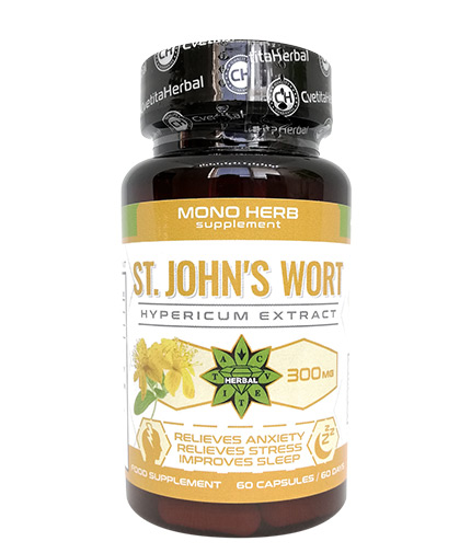CVETITA HERBAL St.John's Wort / 60 Caps