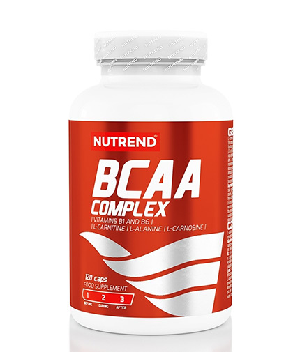 NUTREND BCAA Complex / 120 Caps