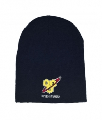 BSN Convertible Beanie / Black