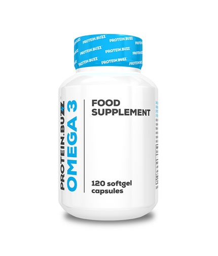PROTEIN.BUZZ Omega 3 / 120 Softgels