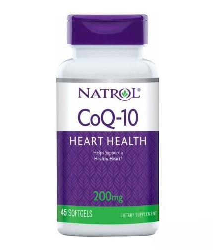 NATROL CoQ-10 200mg Heart Health / 45 Softgels