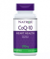 NATROL CoQ-10 200mg Heart Health / 45 Softgels