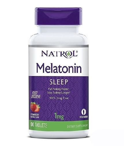 NATROL Melatonin Fast Dissolve 1mg / 90 Tabs