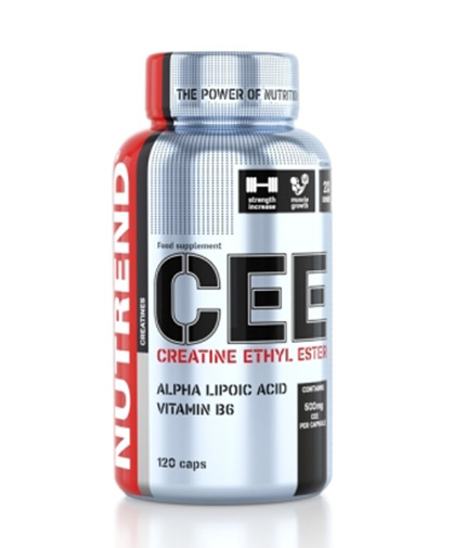 NUTREND Creatine Ethyl Ester / 120 Caps