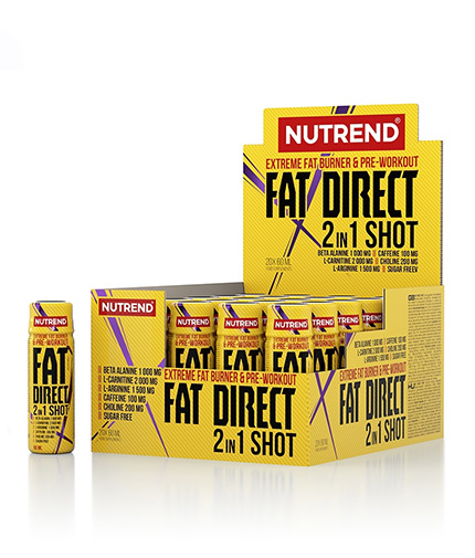 NUTREND Fat Direct Shot / 20x60ml