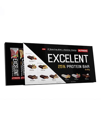 NUTREND Excelent Protein Bar Set / 9x85g