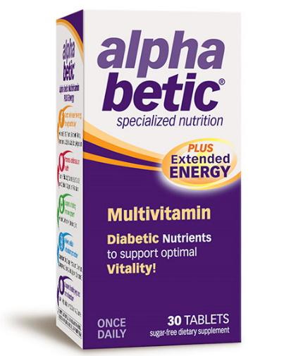 ALPHA BETIC Multivitamin / 30 Tabs