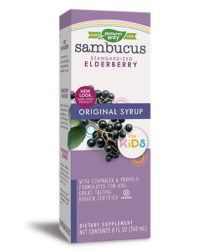 NATURES WAY Sambucus for Kids Original Syrop/ 240ml