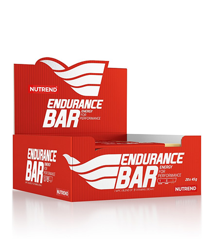 NUTREND Endurance Bar Box / 21x45g