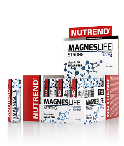 NUTREND Magneslife Strong / 20x60ml