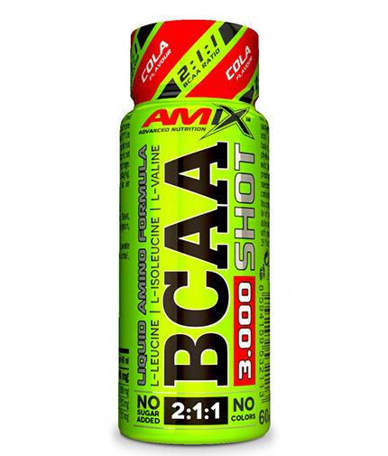AMIX BCAA 3000 Shot / 60ml