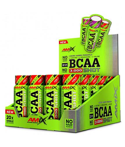 AMIX BCAA 3000 Shot Box / 20x60ml