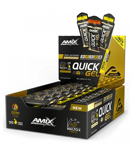 AMIX QUICK Energy Gel Box / 40x45g