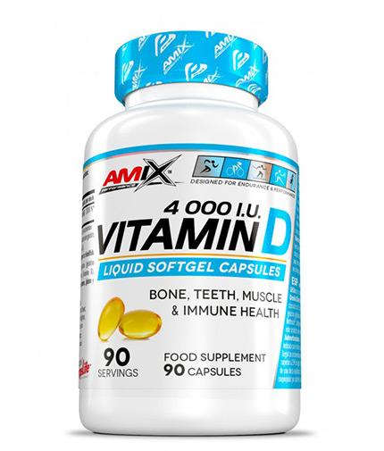 AMIX Vitamin D 4.000 I.U. / 90 Softgels