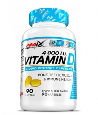 AMIX Vitamin D3 4000 I.U. / 90 Softgels