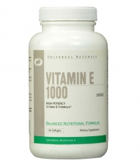 UNIVERSAL Vitamin E 1000 IU / 50 Softgels