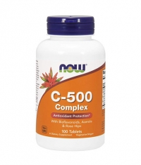 NOW Vitamin C-500 Complex / 100 Tabs