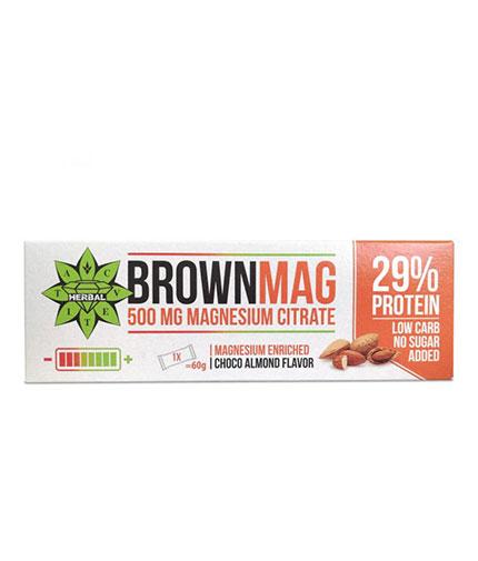 CVETITA HERBAL BrownMag Bar Almond / 60g
