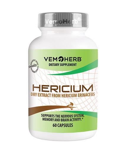VEMOHERB Hericium / 60 Caps