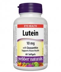 WEBBER NATURALS Lutein 10mg / 60 Softgels