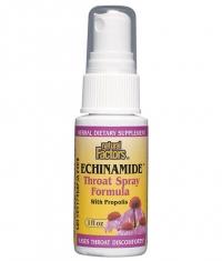 NATURAL FACTORS Echinamide Throat Spray Formula / 30 ml