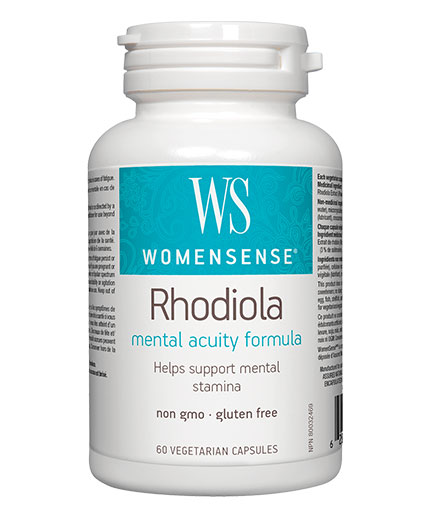 NATURAL FACTORS WomenSense Rhodiola 500mg / 60 Vcaps