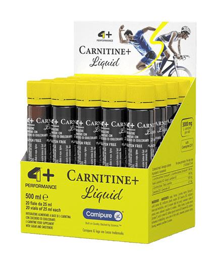4+ NUTRITION Liquid Carnitine + 3.0 / 20x25ml