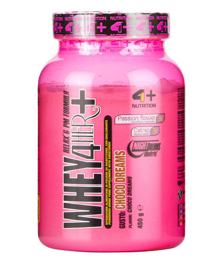 4+ NUTRITION Whey 4 Her + Relax & PM Formula