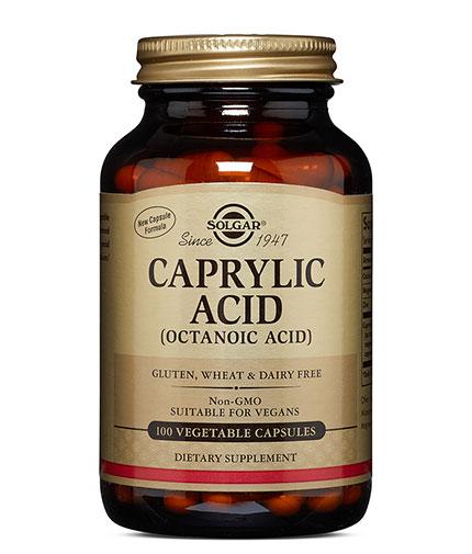 SOLGAR Caprylic Acid / 100 Vcaps