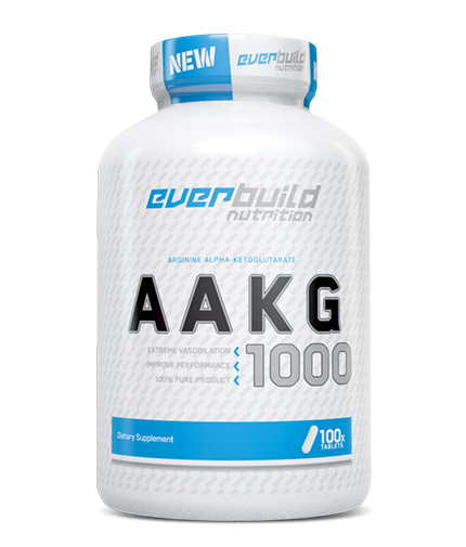 EVERBUILD AAKG 1000mg / 100 Tabs