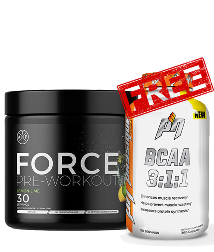 PROMO STACK Force + BCAA 1+1 FREE