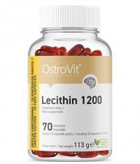 OSTROVIT PHARMA Lecithin 1200 / NO GMO / 70 Softgels