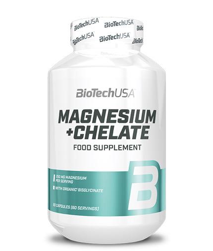 BIOTECH USA Magnesium + Chelate / 60 Caps