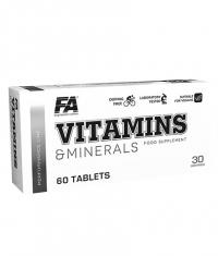 FA NUTRITION Vitamins & Minerals / Performance Line Sports Multi / 60 Tabs