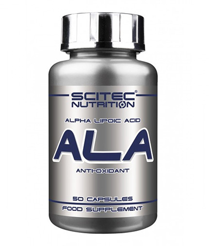SCITEC ALA - Alpha-Lipoic Acid 250 mg. / 50 Caps.