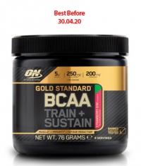 OPTIMUM NUTRITION Gold Standard BCAA Train + Sustain 76g.
