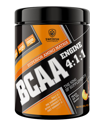 SWEDISH SUPLEMENTS Supplements BCAA Engine 4:1:1