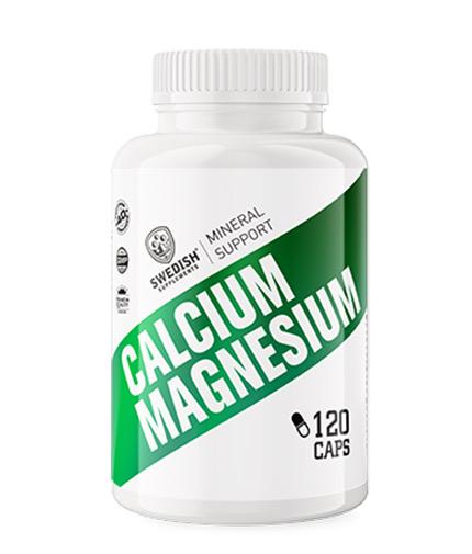 SWEDISH SUPLEMENTS Calcium + Magnesium / 120 Caps