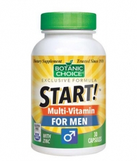 BOTANIC CHOICE START Multi-Vitamin for Men / 30 Vcaps