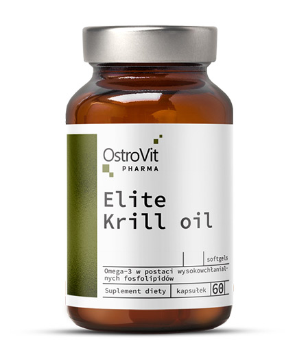 OSTROVIT PHARMA Elite Krill Oil 1000mg / 30 Caps