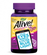 NATURES WAY Alive! Teen Gummy Multivitamin for Her / 50 Gummies