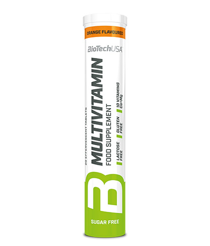 BIOTECH USA Multivitamin / 20 Effervescent Tabs