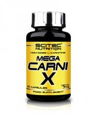 SCITEC Mega Carni-X 1000 mg. / 60 Caps.
