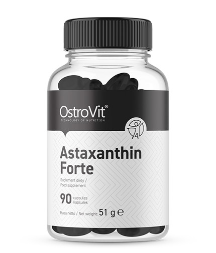 OSTROVIT PHARMA Astaxanthin Forte 4mg / 90 Softgels