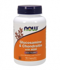 NOW Glucosamine & Chondroitin with MSM / 90 Caps.
