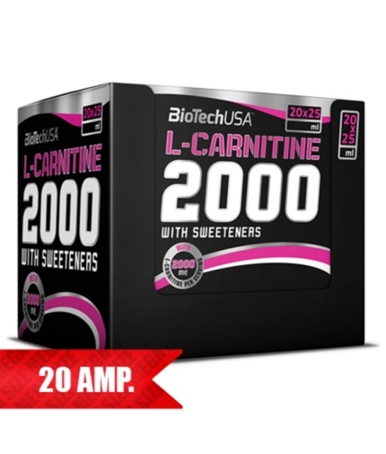BIOTECH USA L-Carnitine 2000 / 20 Amp.